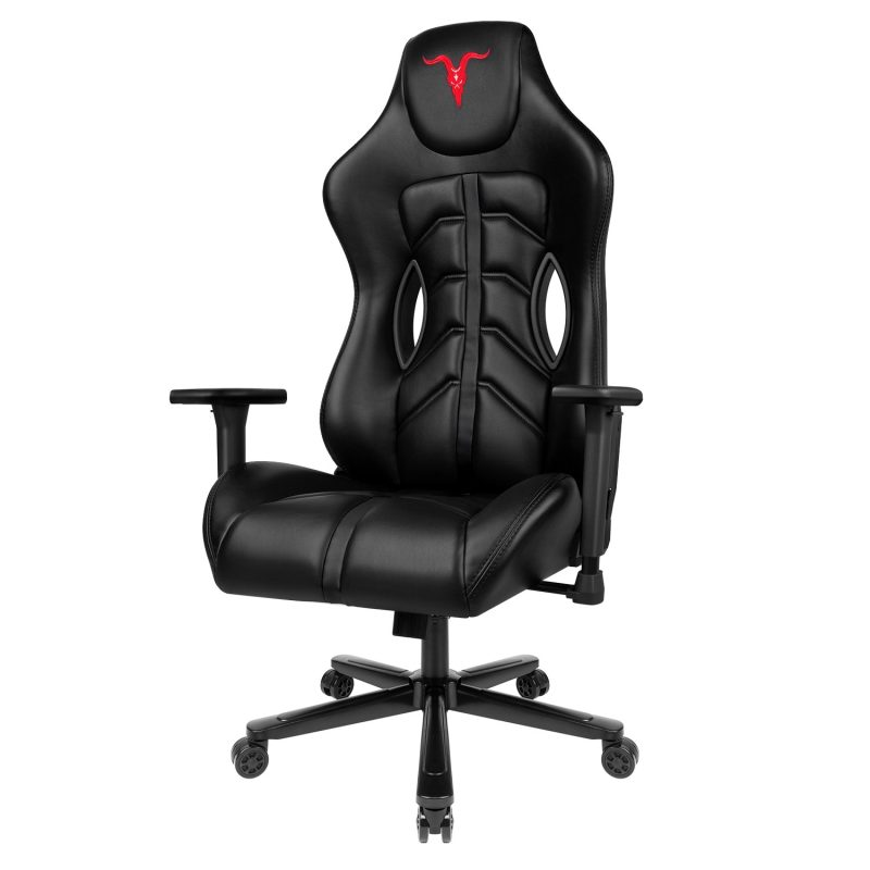 Ergonomic High-Back Leather Memory Foam Gaming Computer Chair